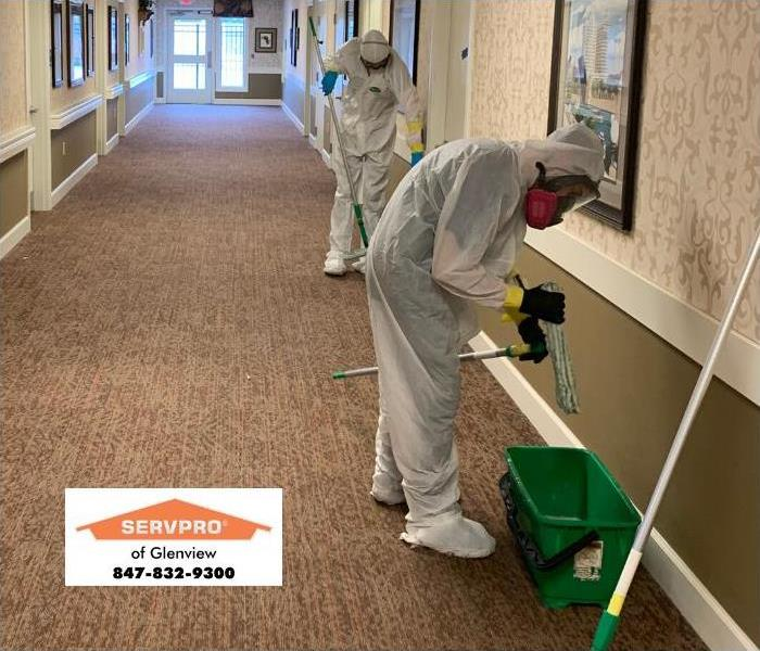 SERVPRO professionals stay protected on the job by wearing PPE