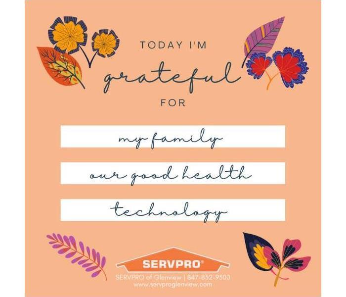 Our logo & colorful hand-drawn leaves around text that reads: Today I