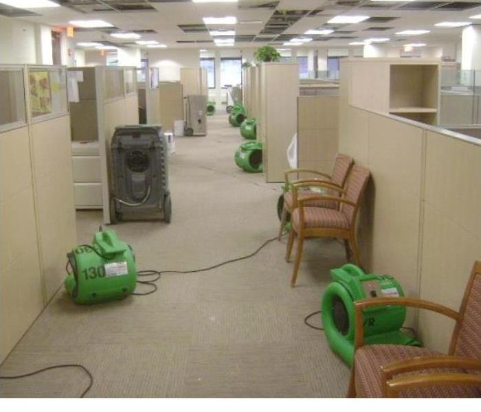 Water Damage Commercial facility with a Flood